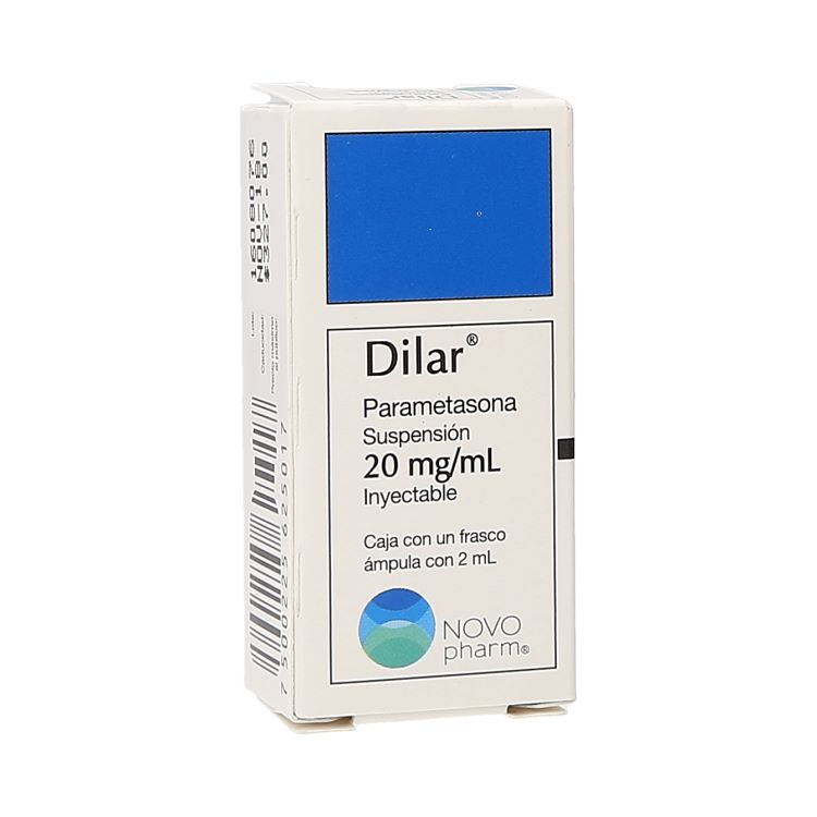DILAR 20MG INY AMP 2ML C1