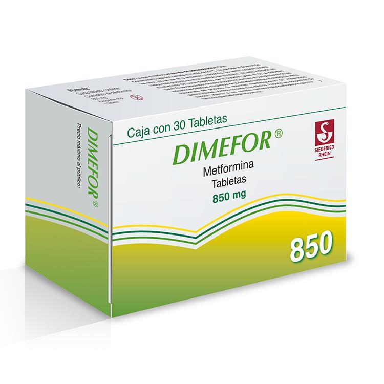 DIMEFOR 850MG TAB C30