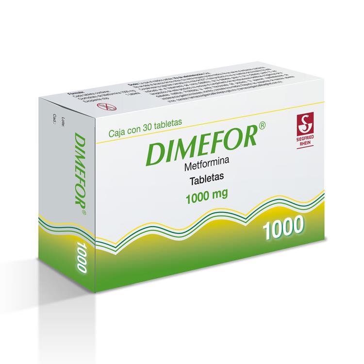 DIMEFOR 1000MG TAB C30