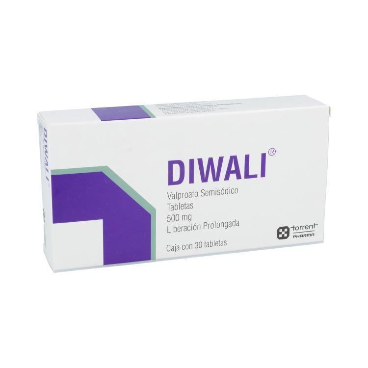 Diwali 500 Mg Caja 30 Tabletas