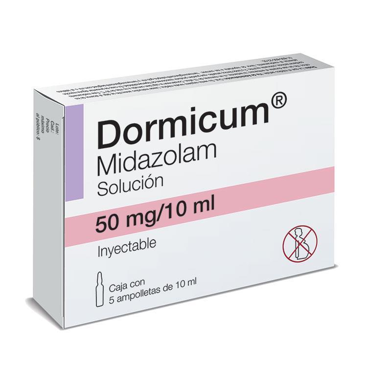 DORMICUM 50MG AMP 10ML C5