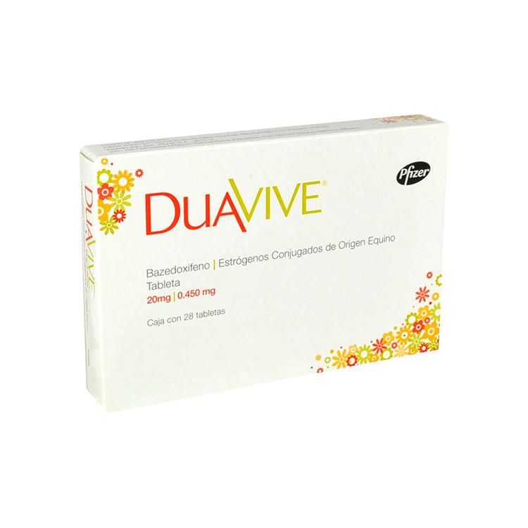DUAVIVE 20/0 450MG TAB C28