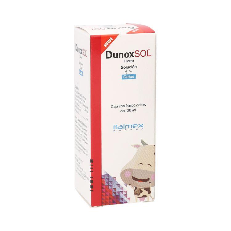 DUNOX SOL 5% GTS 20ML