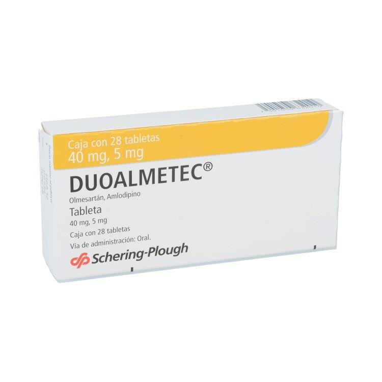 DUOALMETEC 40/5MG TAB C28