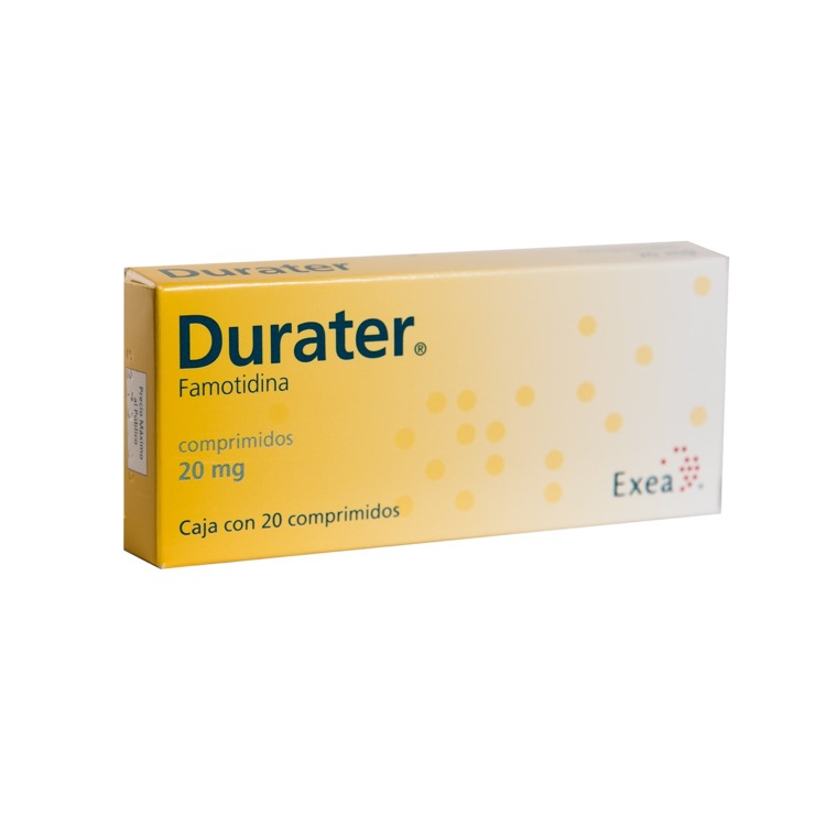 DURATER 20MG CPR C20
