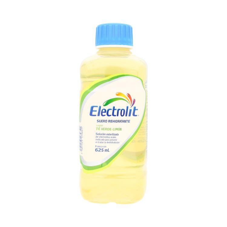 Electrolit Te Verde-Limon 1 Botella Solucion 625 Ml