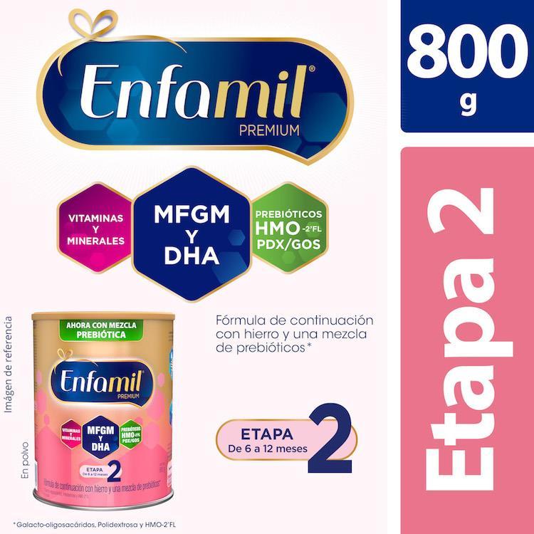 Enfamil Premium 2 1 Lata Polvo 800 Gr