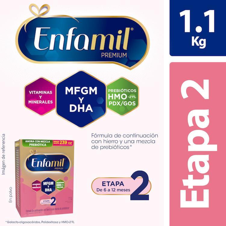 Enfamil Premium2 Rellenapack 1 Caja 1100 Gr