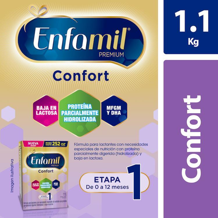 Enfamil Premium Confort De 0 A 12 Meses 2 Bolsas Polvo 550 Gr
