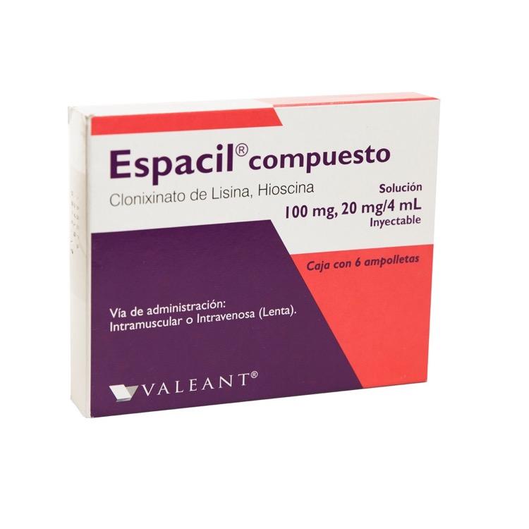 ESPACIL CPTO AMP 2ML C6