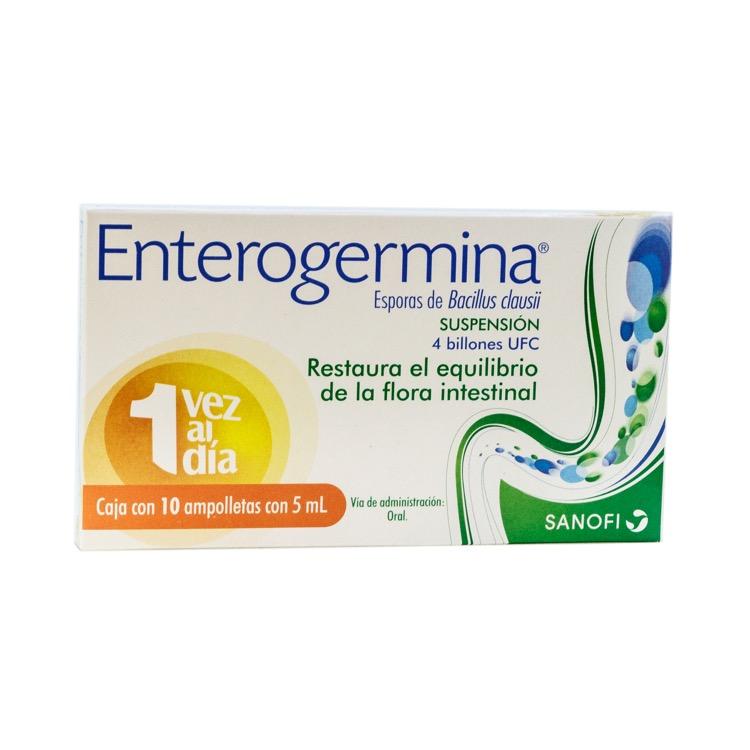 ENTEROGERMINA SUSP 4BIL AMPC10