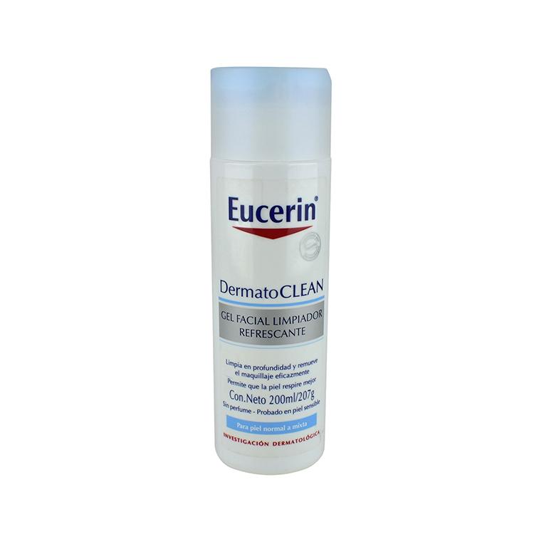 Eucerin Dermatocle Facial Limpiadora 1 Frasco Gel 200 Ml