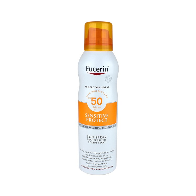 Eucerin Sun Spray Corp Toque Seco Fps 50 1 Botella Spray 200 Ml