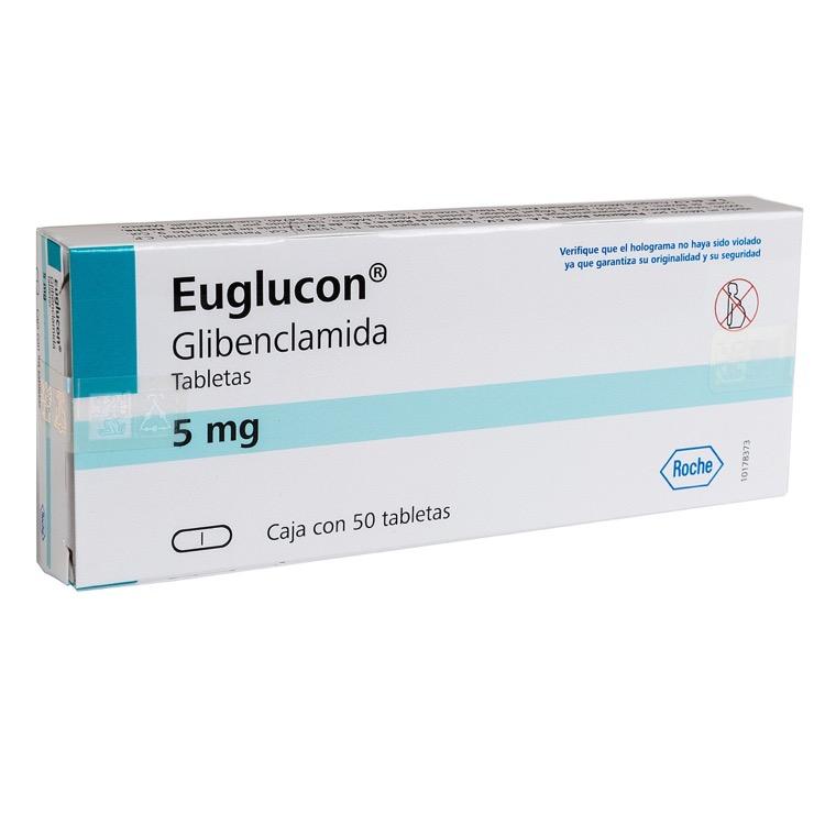 EUGLUCON 5MG TAB C50