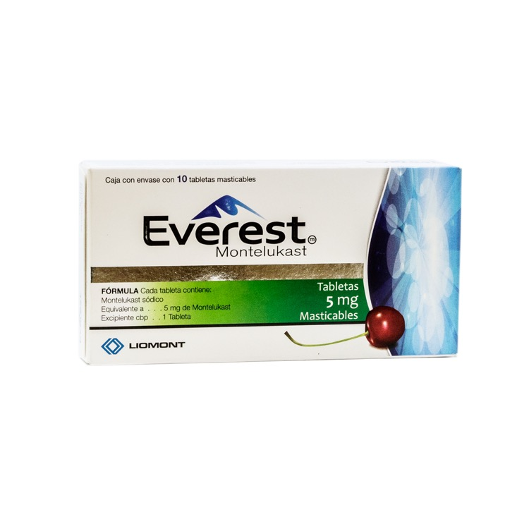 EVEREST M 5MG TAB MAST C10