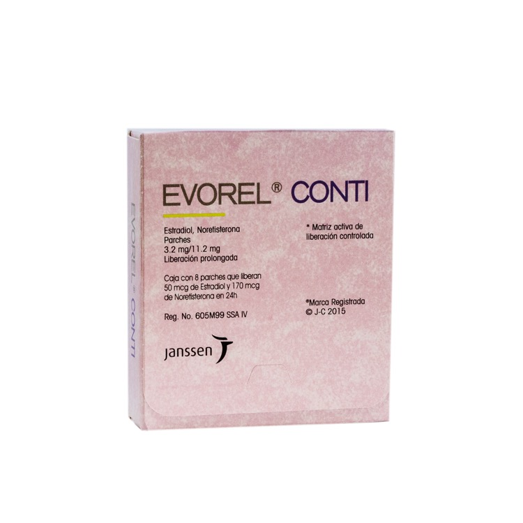 EVOREL CONTI 3 2MG PARCH C8