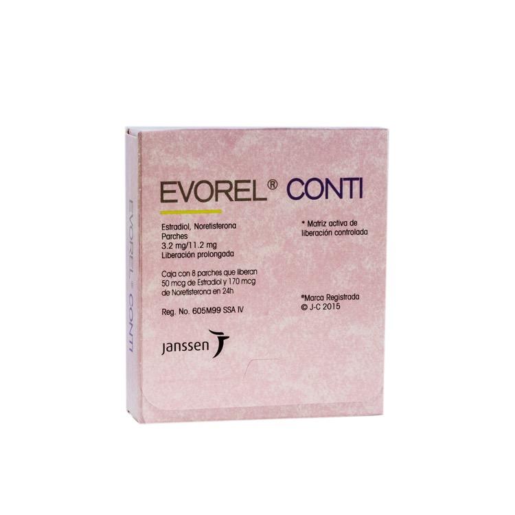 EVOREL CONTI 3 2MG PARCH C8