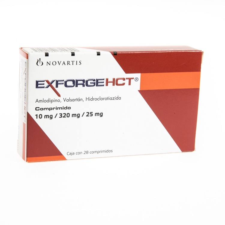 EXFORGE HCT10/320/25MG CPR C28