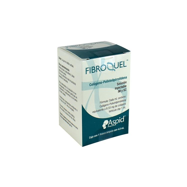 Fibroquel Sol Iny 4ml C1