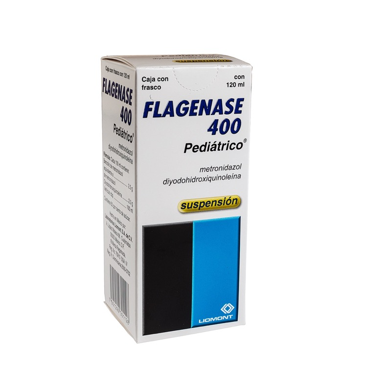 FLAGENASE 400 PED SUSP 120ML
