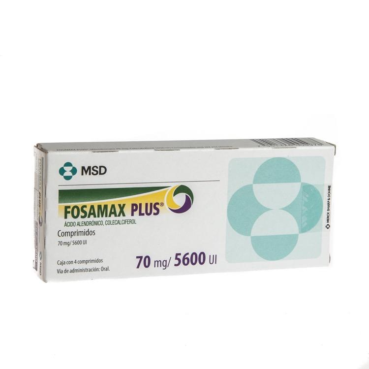 FOSAMAX PLUS 70MG/5600UI CPRC4
