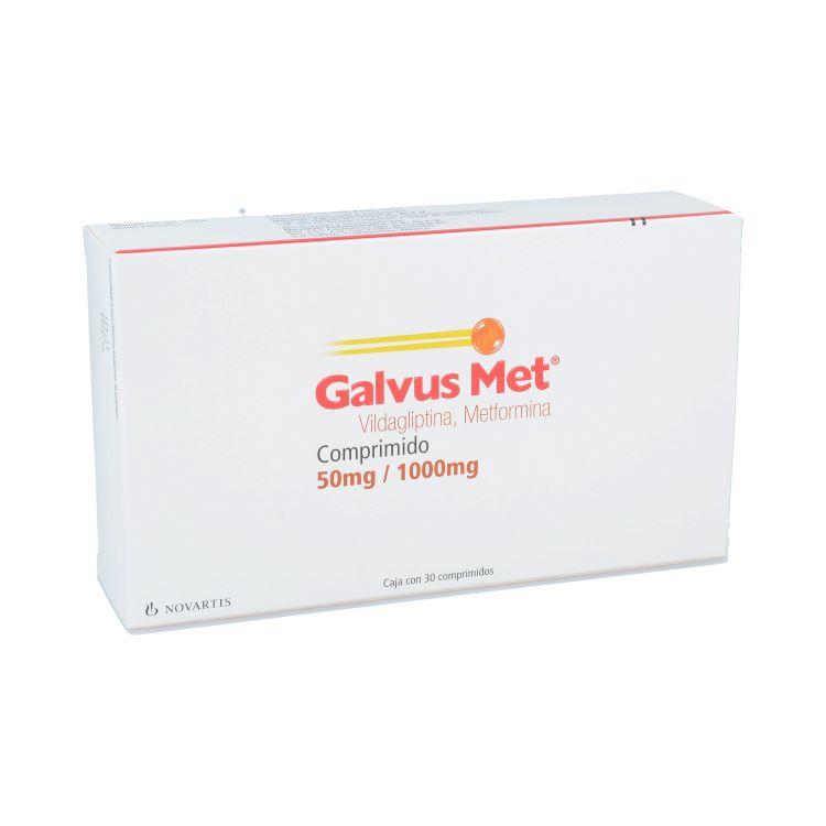 GALVUS MET 50/1000MG CPR C30