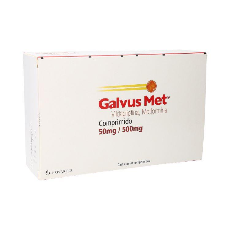 GALVUS MET 50/500MG CPR C30