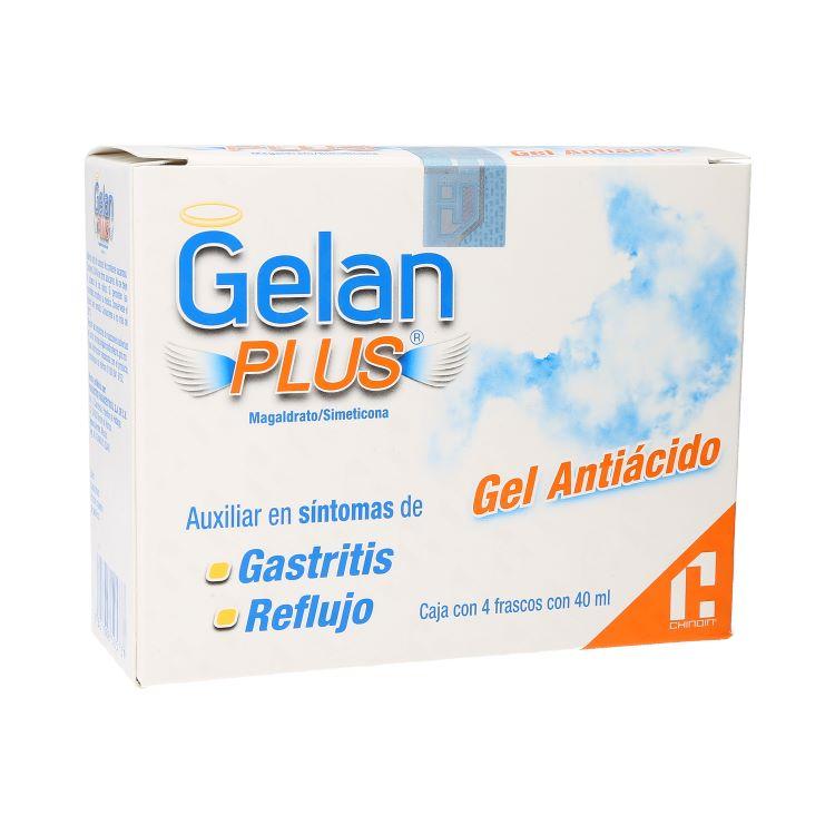 GELAN PLUS CJA C/4FRASCOS 40ML
