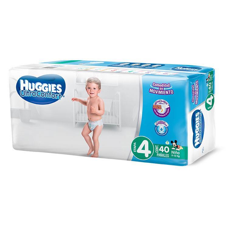 HUGGIES ULT-CONF NINO E4 C40? N