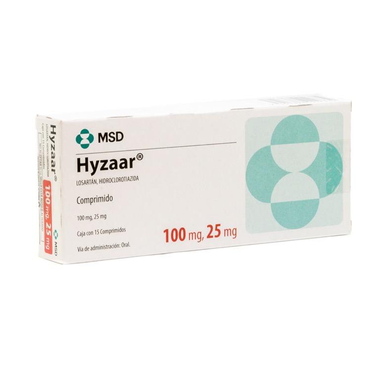 HYZAAR 100/25MG GRAG C15