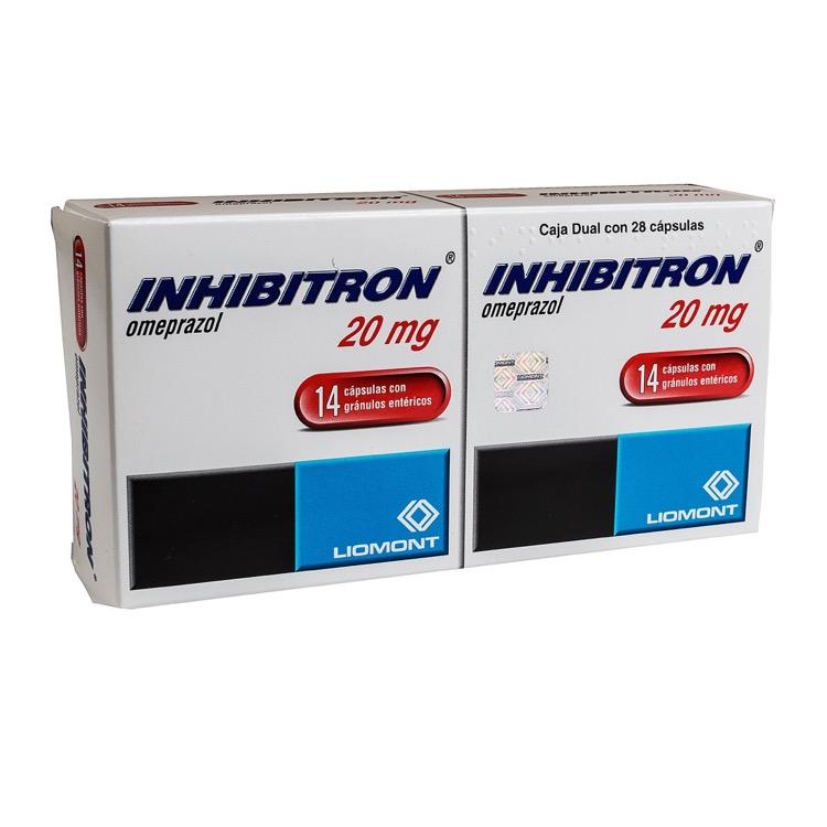 INHIBITRON DUAL 20MG CAP C14