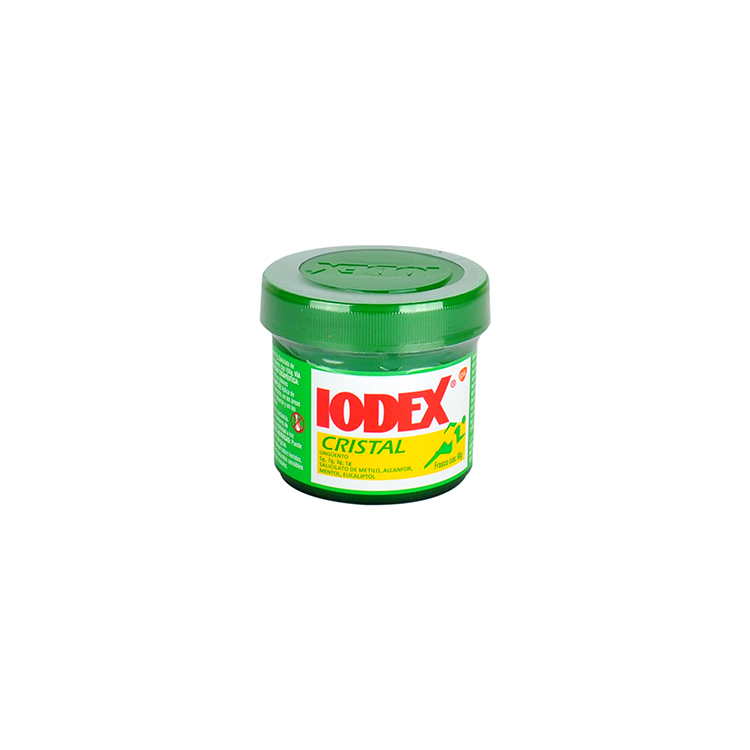 Iodex Cristal 1 Tarro Ungüento 60 Gr