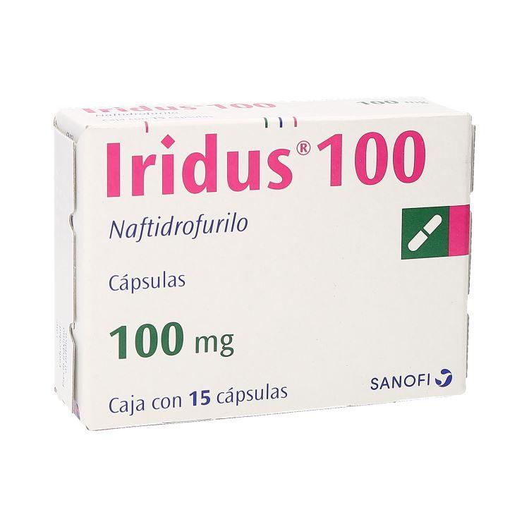 IRIDUS 100MG CAP C15