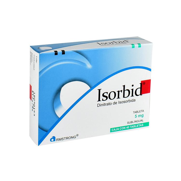 ISORBID SUBLINGUAL 5MG TAB C40