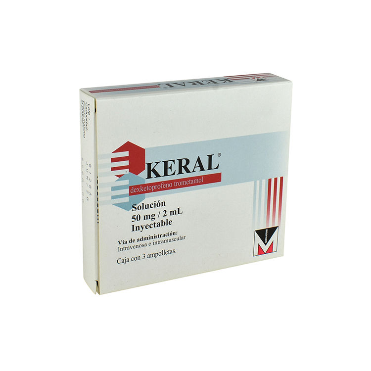 KERAL 50MG 2ML INY AMP C3