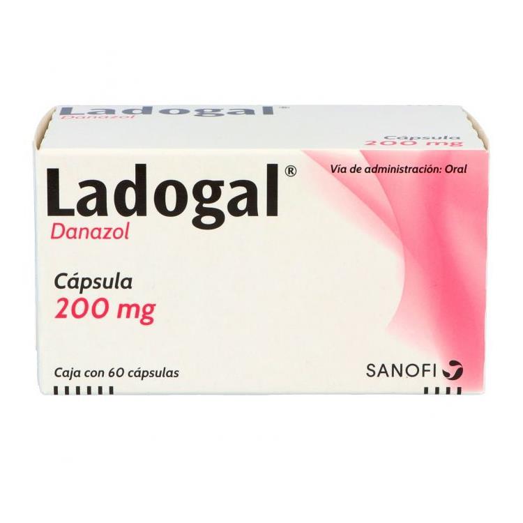 Ladogal 200mg Cap C60