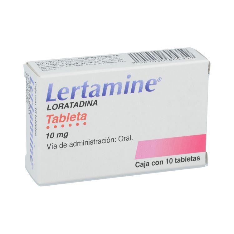 LERTAMINE 10MG TAB C10