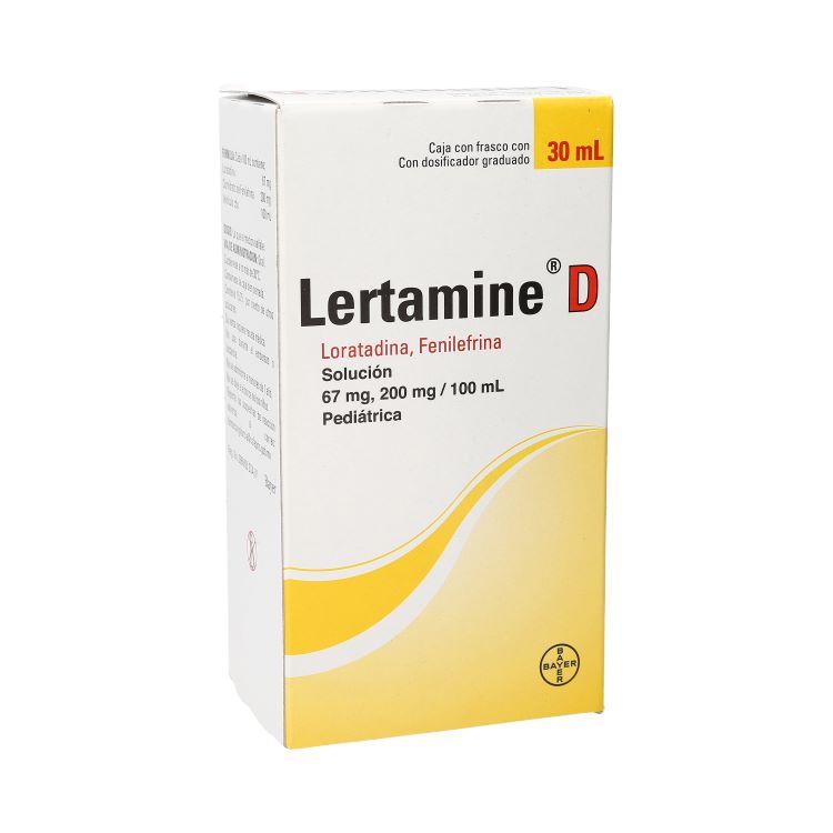LERTAMINE D PED SOL 30ML