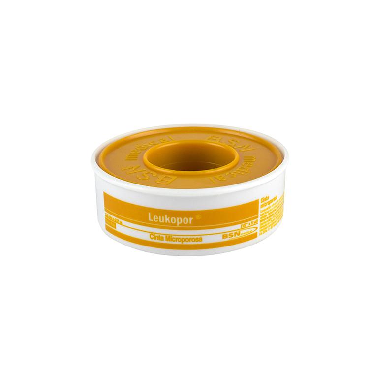 Leukopor Micropore Piel 1.25Cmx4.5M 1 Rollo
