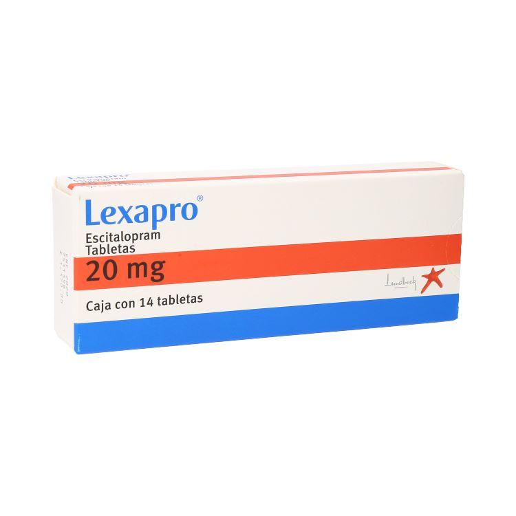 LEXAPRO 20MG TAB C14