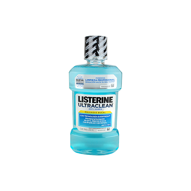 LISTERINE ULTRA CLEAN 250ML