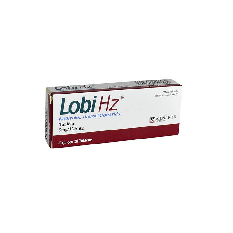 LOBI HZ 5/12 5MG TAB C28