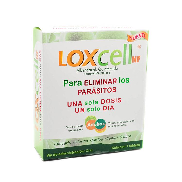 LOXCELL NF CAJA C1 TABLETA