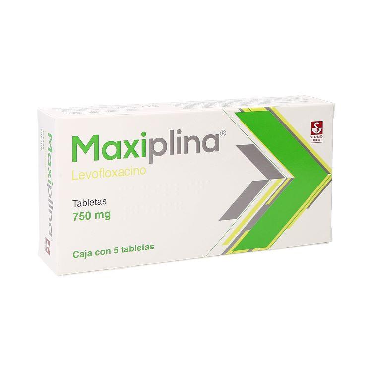 MAXIPLINA 750MG TAB C5