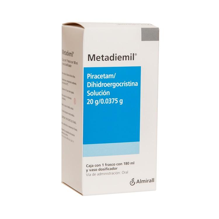 Metadiemil 20 Gr 1 Frasco Solucion 180 Ml