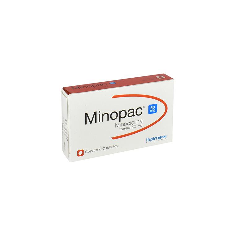 MINOPAC 50MG TAB C30