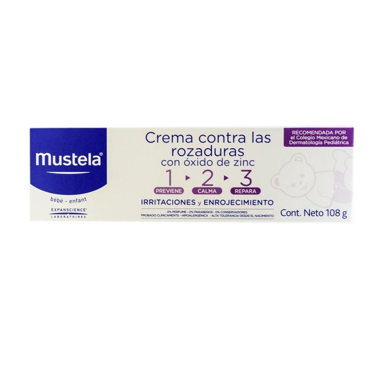 MUSTELA CRA ROZADURA 123 100ML