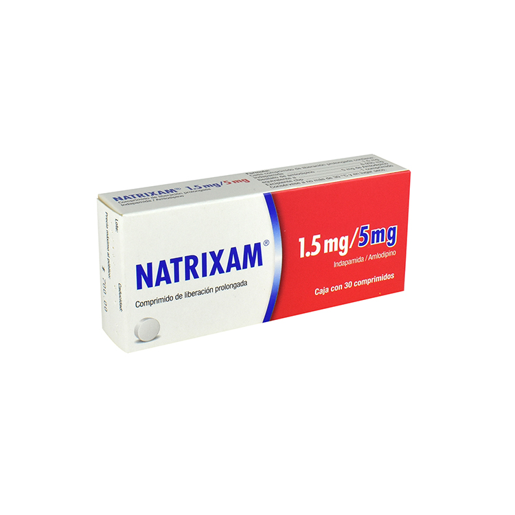 NATRIXAM 1 5/5MG COMP C30
