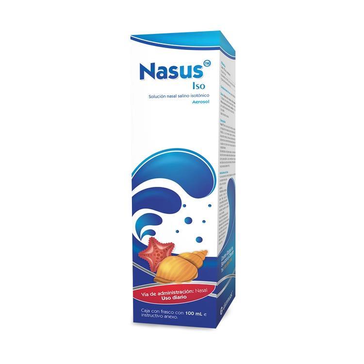 NASUS ISO SOL NASAL AER 100ML