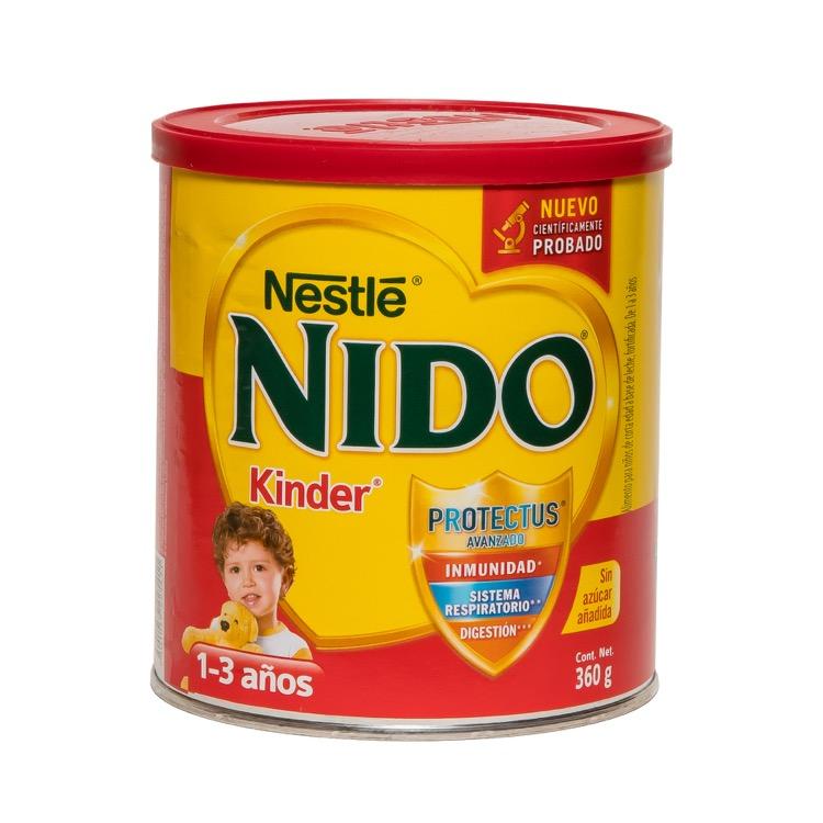 Nido Kinder 1+ Con Prebio 1 Lata 360 Gr